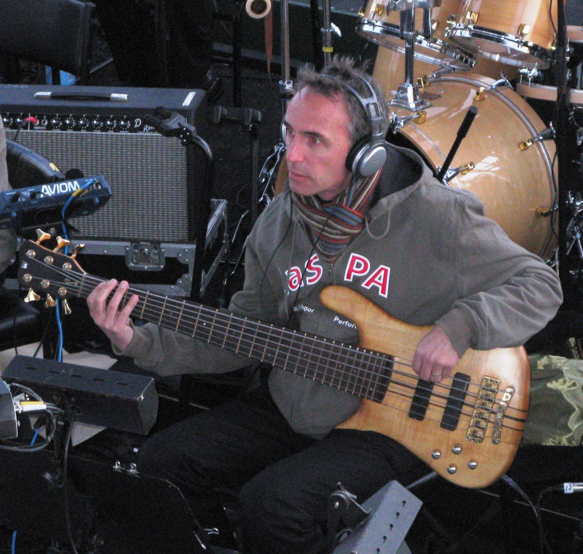 Warwick Bass at World Youth Day 2008